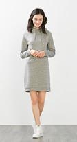 Esprit Sweat hoodie dress w shiny print