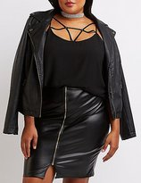Charlotte Russe Plus Size Caged Cami tank Top