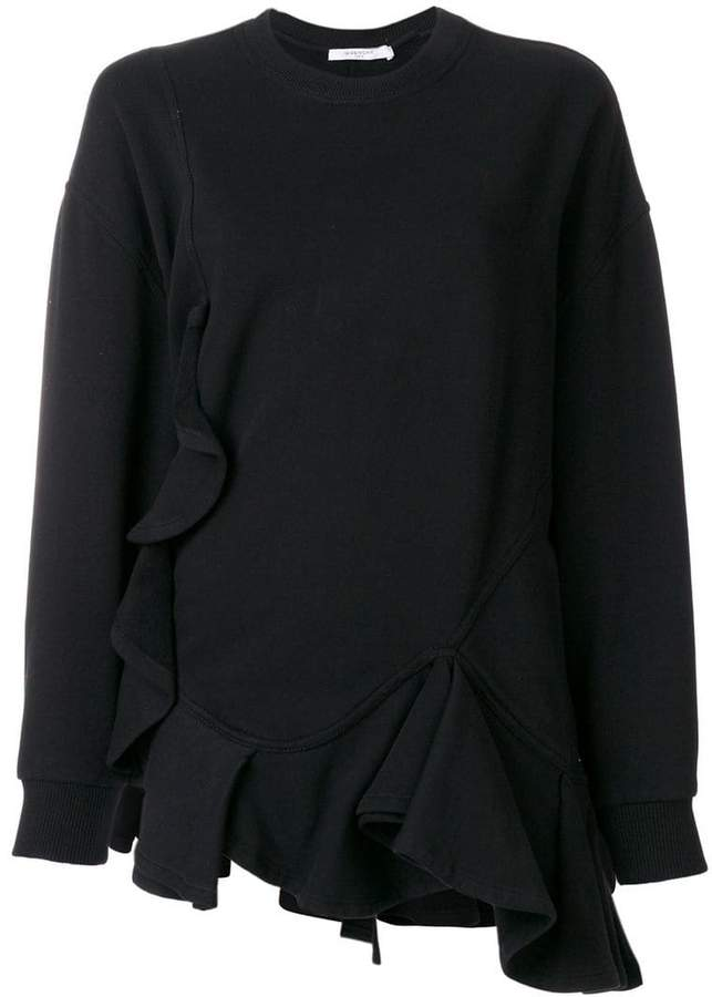 Givenchy ruffled sweatshirt
