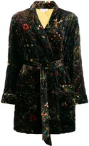 Pierre Louis Mascia Tile Print Robe