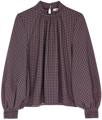 Stine Goya Eddy checked blouse