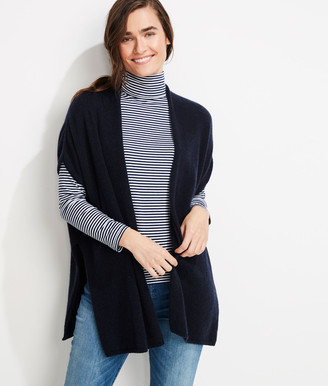 Vineyard Vines Lofty Cashmere Open Front Cardigan