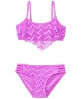Gossip Girls' Endless Summer Crochet Flounce Two Piece Set (7yrs16yrs) - 8138147