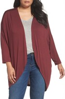 Sejour Plus Size Women's Lightweight Cardigan
