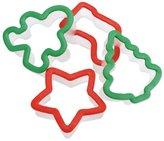 Wilton Grippy Cookie Cutter Set 4/Pkg-Holiday