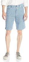 Calvin Klein Jeans Men's Double Cloth Plaid Short