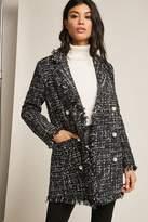 Forever 21 Metallic Tweed Blazer