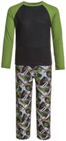 Komar Kids Wolf Camo Thermal Pajamas - Long Sleeve (For Kids)