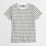 J.Crew Factory Slim deck-striped T-shirt