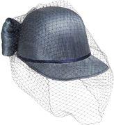 Alex Sisal Hat W/ Net Tulle Veil