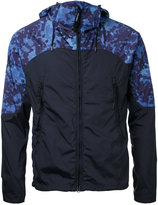 C.P. Company printed shoulders hooded jacket