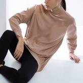 River Island Womens RI Studio pink satin sweater tunic