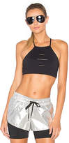 Lovers + Friends WORK by x REVOLVE In a Flash Crop Bra in Black. - size S (also in XL,XS)