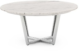 Mitchell Gold Bob Williams Modern Round Dining Table, Large