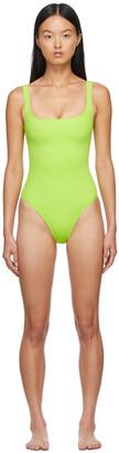 Nu Swim Green Pistachio One-Piece Swimsuit
