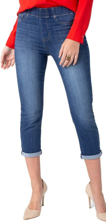 33133f9abdc96 Rolled-cuff Capri Jeans - ShopStyle