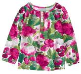 Gymboree Floral Smock Top