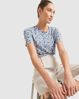 Sportscraft Women's Short Sleeve Tops - Emery Liberty Tee - Size One Size, XS at The Iconic
