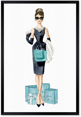 Oliver Gal Diamond Breakfast Shopping Canvas Art By The Artist Co.
