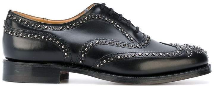 Church's studded oxfords