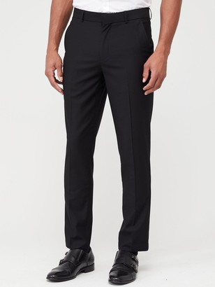 Very Man Stretch Slim Suit Trousers - Black