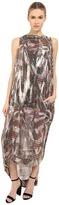 Vivienne Westwood Wraped Tartan Lurex Fatima Dress