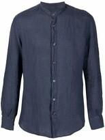 Thumbnail for your product : Glanshirt Band-Collar Linen Shirt