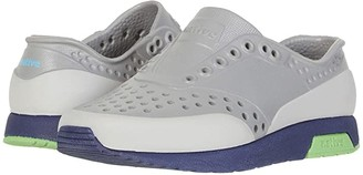 Native Lennox Block (Little Kid) (Pigeon Grey/Regatta Blue/Grasshopper Green/Tundra Block) Boy's Shoes