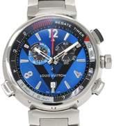 Louis Vuitton Tambour Q102D Stainless Steel Quartz 44mm Mens Watch