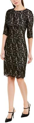 Carolina Herrera Sheath Dress
