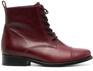 Tila March Clyde lace-up boots