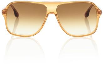 Victoria Beckham Aviator acetate sunglasses