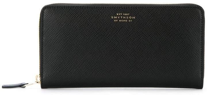 Smythson zip around wallet