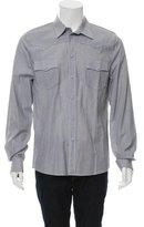 Balenciaga Pinstripe Button-Up Shirt