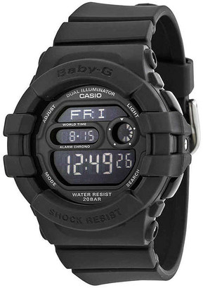 Casio Baby G Digital Dial Black Resin Watch BGD140-1ACR