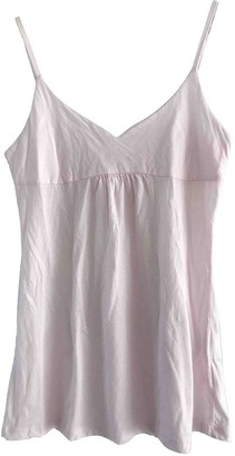 Woolrich Pink Cotton Top for Women