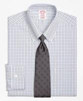 Brooks Brothers Non-Iron Madison Fit Triple Tattersall Dress Shirt