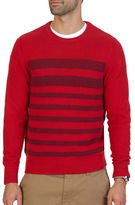 Nautica Breton Striped Textured Sweater