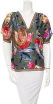 Missoni Printed Silk Top