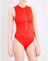 Calvin Klein Intense Power high neck swimsuit