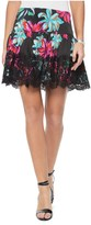 Juicy Couture Baltic Floral Skirt With Lace