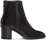 Rag & Bone Black Studded Willow Boots