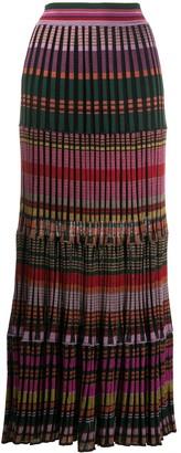 Cecilia Prado Morena knitted midi skirt