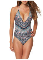 O'Neill Strappy Floral One-Piece