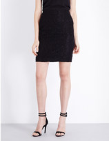 The Kooples High-rise stretch-lace skirt