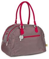 Lassig Gold Label Bowler Diaper Bag in Metallic Red