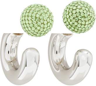 """Marc Jacobs The Bubbly"""" small hoop earrings"""