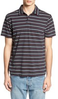 RVCA 'Sure Thing' Stripe Jersey Polo