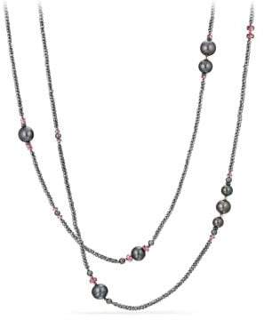 David Yurman Oceanica Tweejoux Necklace With Pearls, Hematine And