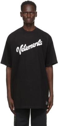 Vetements Black Sweet Logo T-Shirt